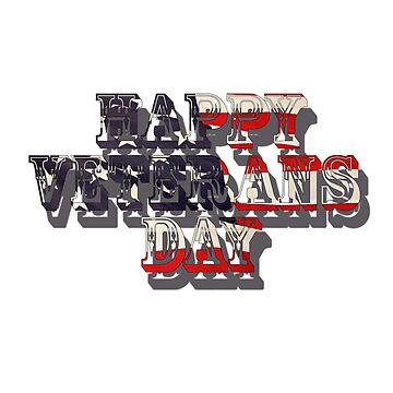 H-ppy veterans day by AbdelaaliKamoun