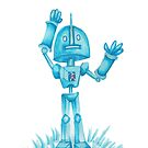 Robot in Blue by lelulagames