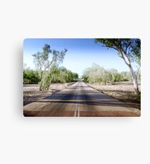 The Road to back of Beyond Canvas Print
