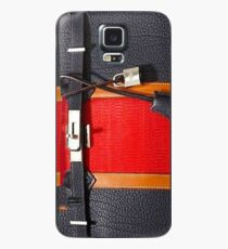 hermes red Case/Skin for Samsung Galaxy