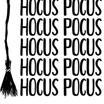 A Bunch Of Hocus Pocus Sanderson Sisters Salem Humerous Pun by Kristalgia