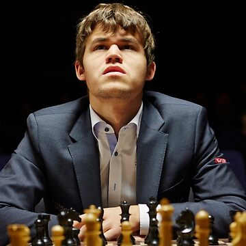 magnus carlsen by Chuft