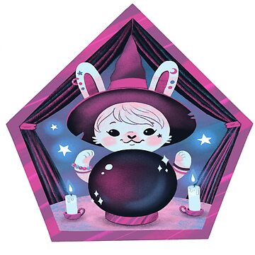Crystal Ball Bunny by katiecrumpton