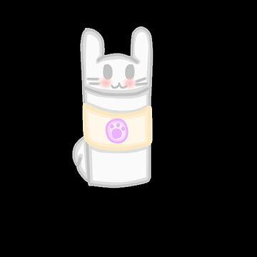 Kawaii Bunny Latte by mikistarlight