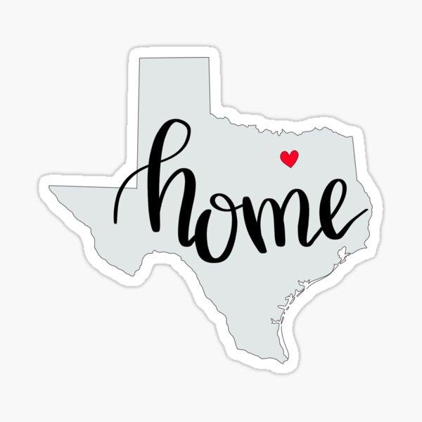 DFW - Home Sticker