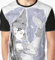Cambodian Apsara art Graphic T-Shirt