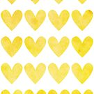 Decorative template with hearts by starchim01