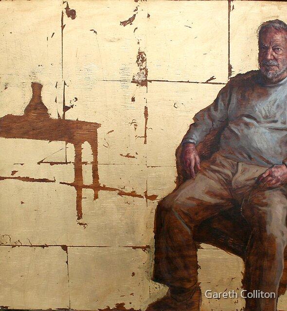 Portrait of Brian Dunlop by Gareth Colliton