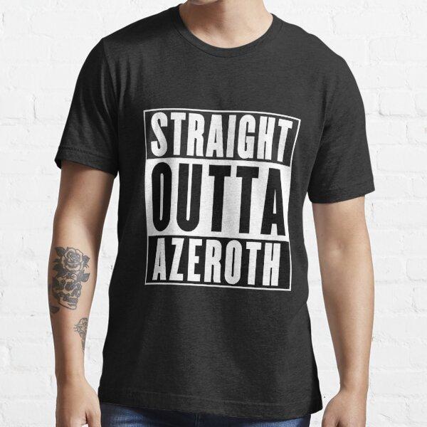 Geradeaus Azeroth Essential T-Shirt