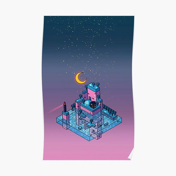 LoFi Island Poster