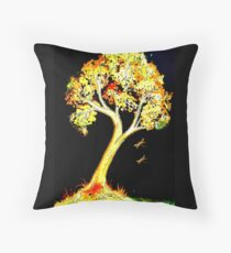 Follow the Light - Trees Floor Pillow