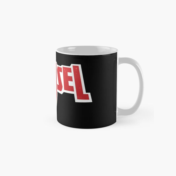 Don't mess with a Damsel - Black Classic Mug