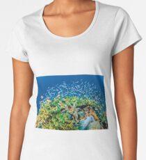 Reef life, Raja Ampat Women's Premium T-Shirt