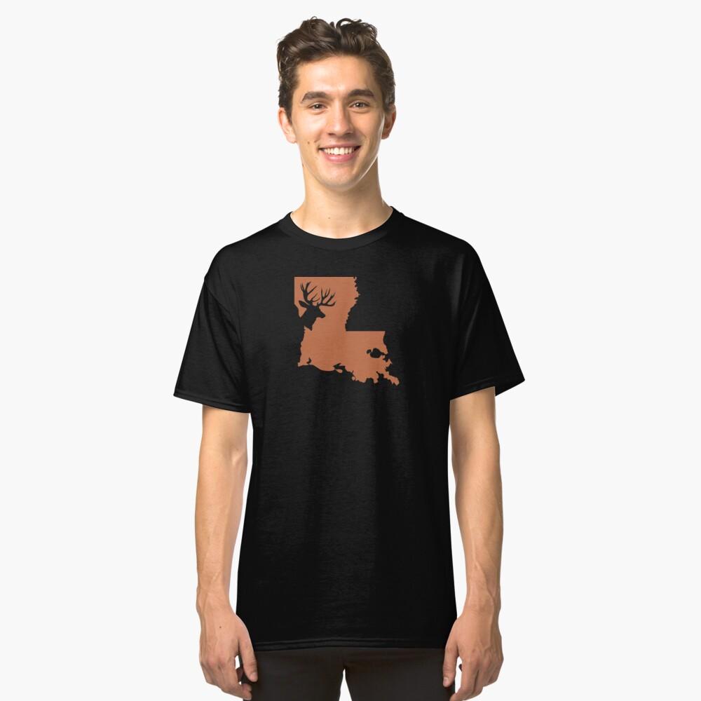 LOUISIANA DEER Classic T-Shirt Front