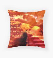 Refiner's Fire  Throw Pillow