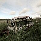 26.8.2018: Old Abandoned Car at Countryside by Petri Volanen