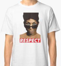 respect aretha Classic T-Shirt