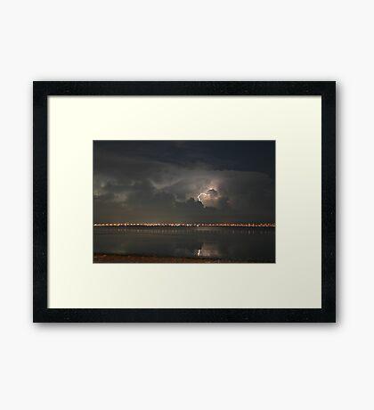 Tampa Bay Lightning Framed Print