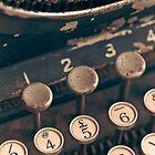 Vintage Typewriter by lightwanderer