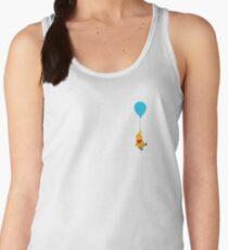 Pooh Balloon Minimalist Women's Tank Top