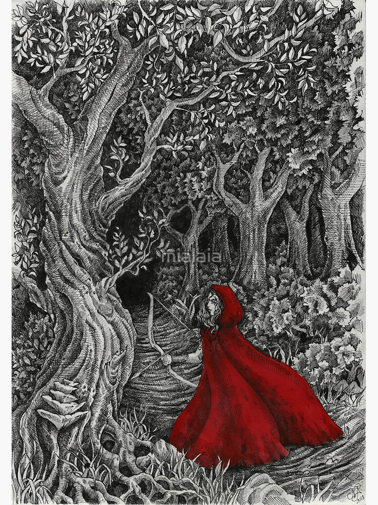 Red Riding Hood by mialaia