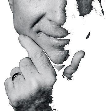 John McCain Black and White by FrauNorberto