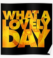 What a lovely day v.2 Poster