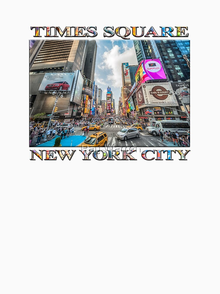 Times Square Traffic by RayW