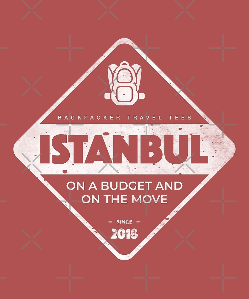 Istanbul Backpackers T-Shirt by designkitsch