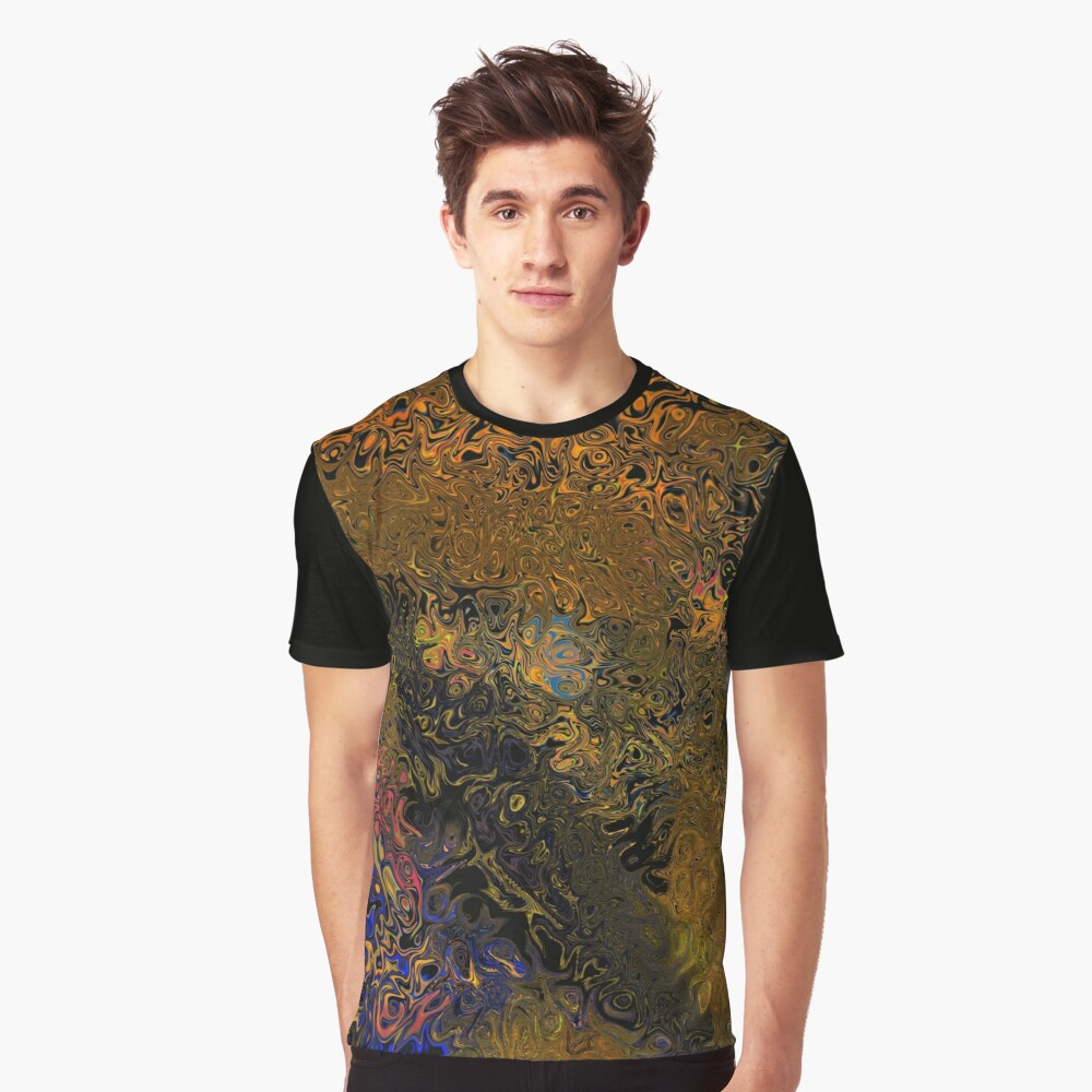 Patterns Graphic T-Shirt Front