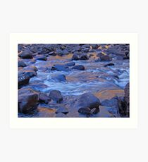 Liquid Gold, Katherine Gorge, Northern Territory,Australia Art Print