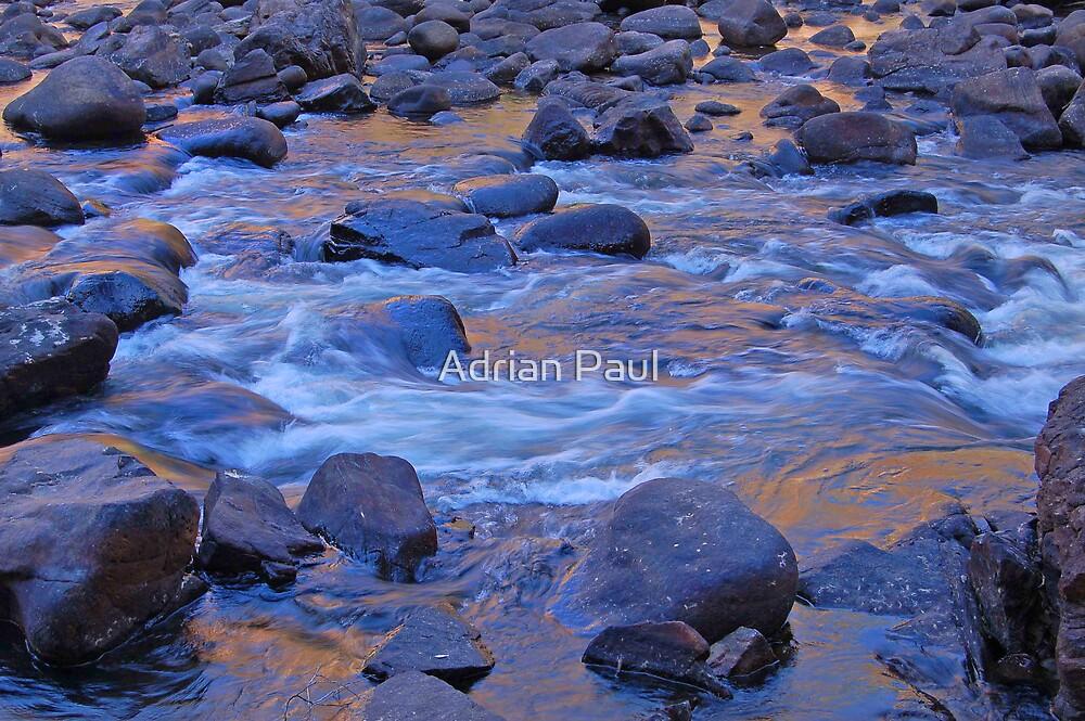Liquid Gold, Katherine Gorge, Northern Territory,Australia by Adrian Paul