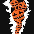 Pumpkin Burst Halloween Gift by lifestyleswag