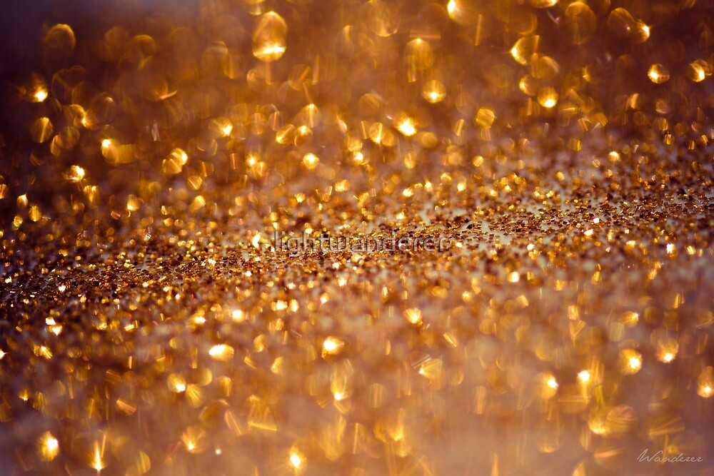 All that glitters - Macro Photography #Redbubble by lightwanderer