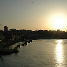 Sunset over Porto by mapkyca