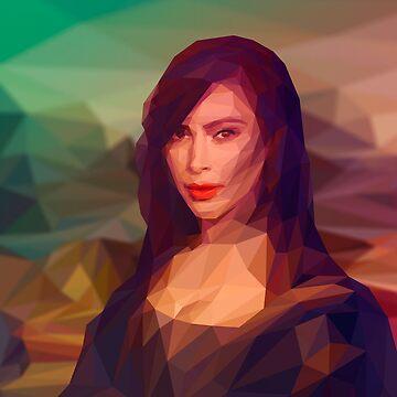 Kardashian Art by Lowdey