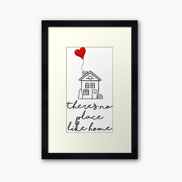 There's no place like home-OZ Framed Art Print