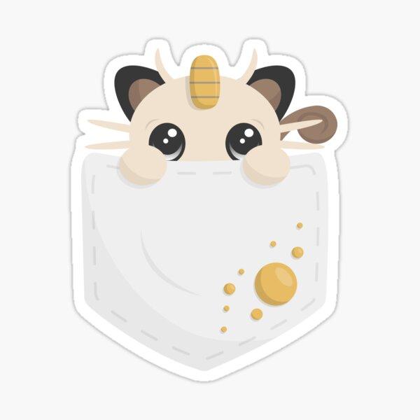 Pocket Meowth Sticker