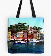 Along Side Portofino Tote Bag