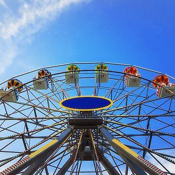 ferris wheel by psychoshadow