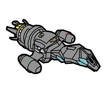 Firefly: Serenity Cartoon by StabbedPanda