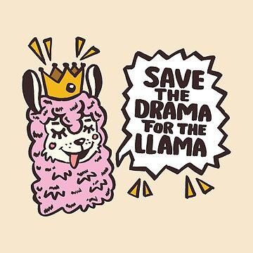 Drama Lama komisch geruhen von webtrekker