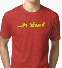 the Official JaYoe Nation Emblem Tri-blend T-Shirt