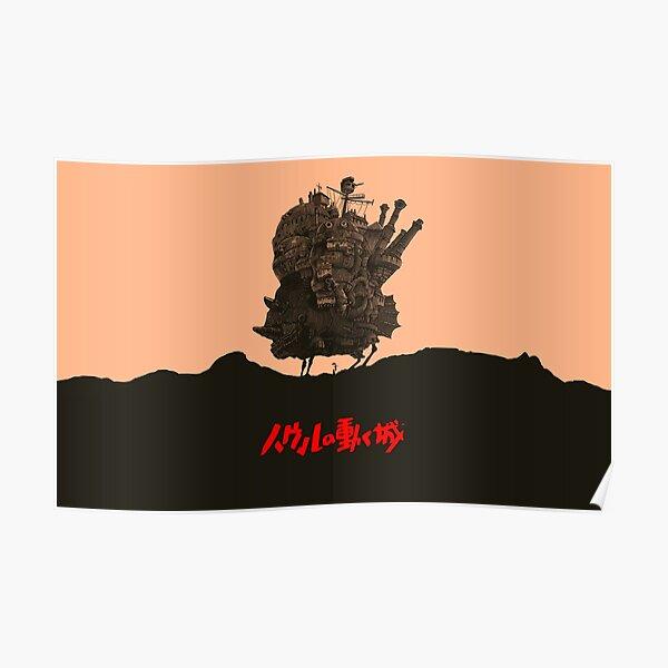 The Traveling Castle - Hayao Miyazaki Poster