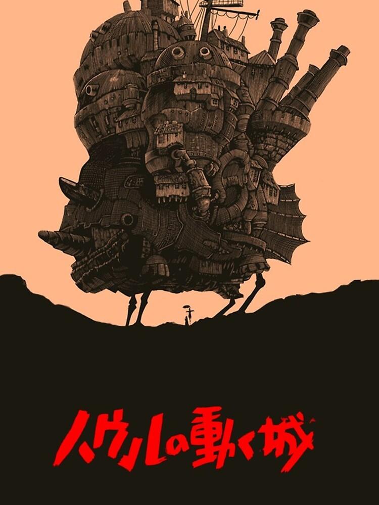 The Traveling Castle - Hayao Miyazaki by Syteez