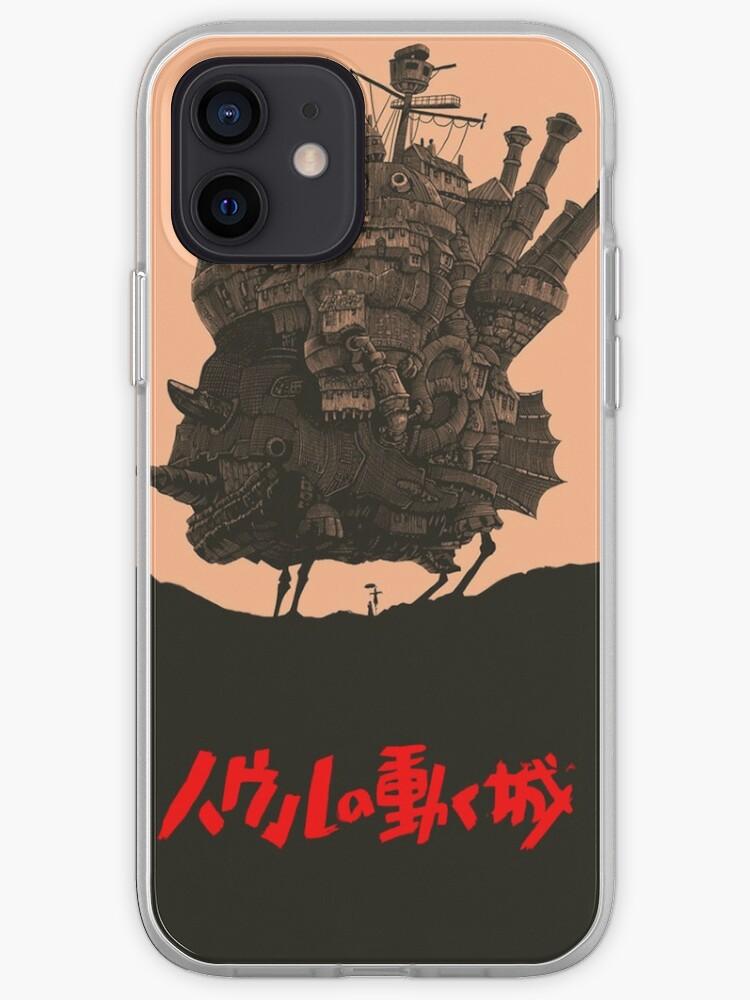 Le Chateau Ambulant - Hayao Miyazaki   Coque iPhone
