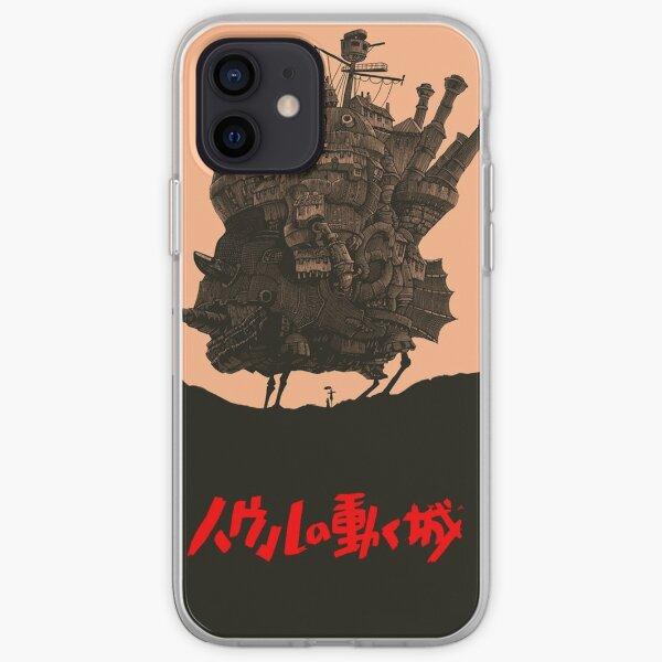 Le Chateau Ambulant - Hayao Miyazaki Coque souple iPhone