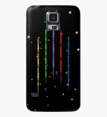 Voltron Löwen im Weltraum Hülle & Klebefolie für Samsung Galaxy