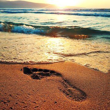 footprint by psychoshadow