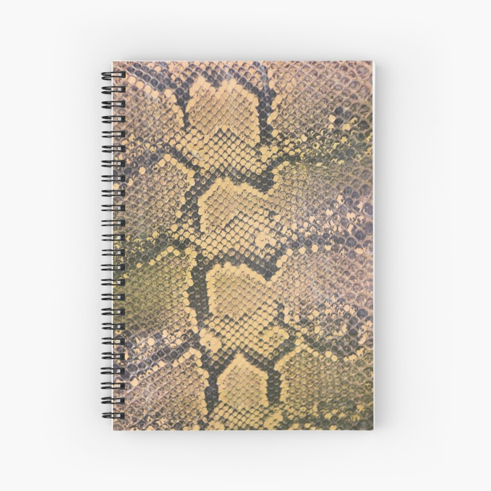 Snakeskin Spiral Notebook